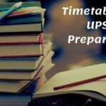 Timetable for UPSC Preparation